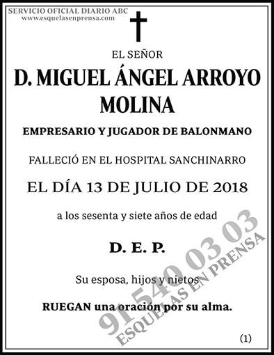 Miguel Ángel Arroyo Molina